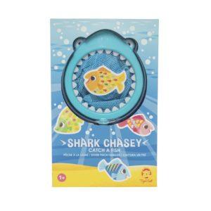 gift boxed shark chasey bath game