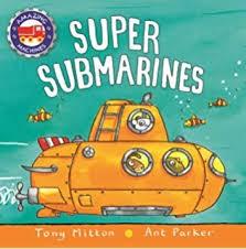 Super Submarines Book